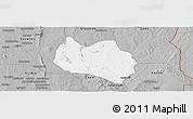 Gray Panoramic Map of Dassa