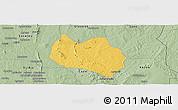 Savanna Style Panoramic Map of Dassa