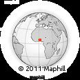 Outline Map of Glazoue