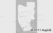 Gray Map of Zou