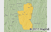 Savanna Style Map of Save