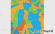 Political Map of Beni
