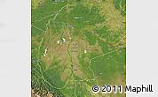 Satellite Map of Beni