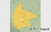 Savanna Style Map of Beni