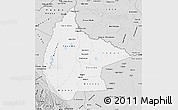 Silver Style Map of Beni