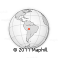 Outline Map of Beni