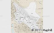 Classic Style Map of Cochabamba