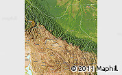 Satellite Map of Cochabamba