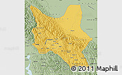 Savanna Style Map of Cochabamba