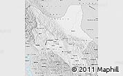 Silver Style Map of Cochabamba