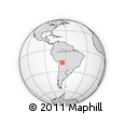 Outline Map of Mizoque