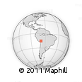 Outline Map of Camacho