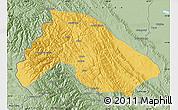 Savanna Style Map of Franz Tamayo
