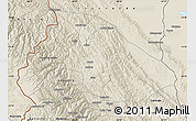Shaded Relief Map of Franz Tamayo