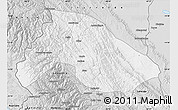 Silver Style Map of Franz Tamayo