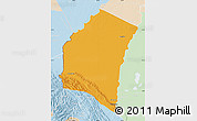 Political Map of Iturralde, lighten