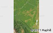 Satellite Map of Iturralde