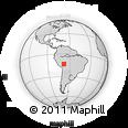 Outline Map of Iturralde