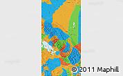 Political Map of La Paz