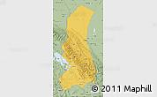 Savanna Style Map of La Paz