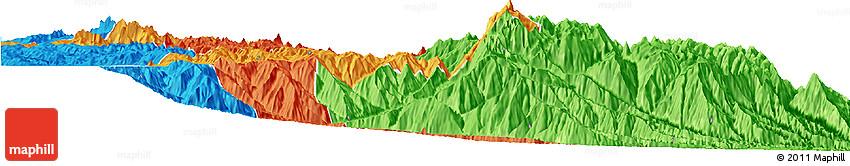 Political Horizon Map of Munecas