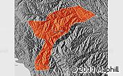 Political Map of Munecas, desaturated