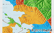 Political Map of Omasuyos