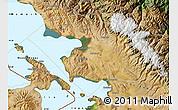 Satellite Map of Omasuyos