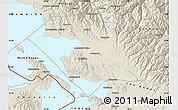 Shaded Relief Map of Omasuyos