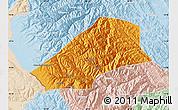 Political Map of Saavedra, lighten