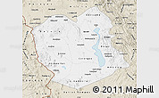 Classic Style Map of Oruro