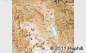 Satellite Map of Oruro