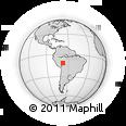 Outline Map of Manuripi