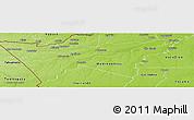 Physical Panoramic Map of Manuripi