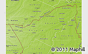 Physical Map of Pando