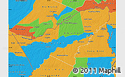 Political Map of Pando