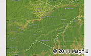 Satellite Map of Pando