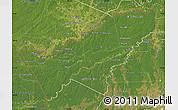 Satellite Map of Pando