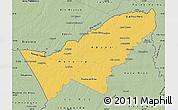 Savanna Style Map of Pando