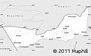 Silver Style Simple Map of Nicolas Suarez