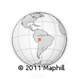 Outline Map of Pando