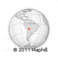 Outline Map of Charcas