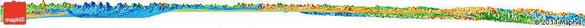 Political Shades Horizon Map of Potosi