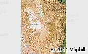 Satellite Map of Potosi