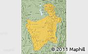 Savanna Style Map of Potosi