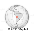 Outline Map of Potosi