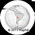 Outline Map of Sud Lipez