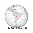 Outline Map of Cordillera