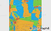 Political Map of Santa Cruz