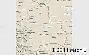 Shaded Relief Map of Santa Cruz